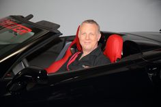 Spokesperson Scott Hoke in the 2016 Chevrolet Corvette Z06 during the filming of a commercial for the charity event. www.winthevettes.com Ends 12/30/16.