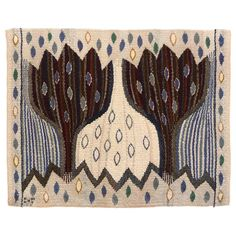 Ann-Mari Forsberg, AB Märta Maas-Fjetterström, Sweden, 1945 | From a unique collection of antique and modern russian and scandinavian rugs at http://www.1stdibs.com/furniture/rugs-carpets/russian-scandinavian-rugs/