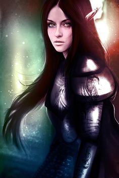 blood elf by ryky on DeviantArt