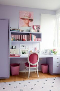 Audrey Hepburn style - craft room