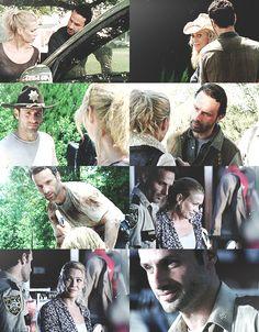 Rick Grimes & Andrea, The Walking Dead