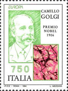 """1994 - """"Europa Unita"""": Le scoperte - Camillo Golgi, istologo e patologo, premio Nobel per la medicina nel 1906 e tessuto cerebrale"""