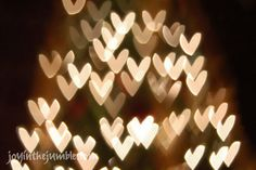 How to get Heart Shaped Christmas Light Photos- Amazing tutorial!