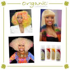 Nicki Minaj ve daha pek çok ünlü ismin Organic Colour Systems No Limits'i tercih ettiğini biliyor muydunuz?