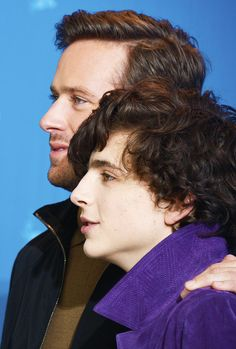 Armie Hammer and Timothée Chalamet | 'Call Me by Your Name', 67th Berlinale International Film Festival Berlin