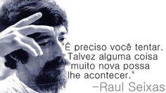 Frases do Raul Seixas para Facebook - Frases para Facebook