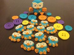 Giggle and Hoot topper package mini Hoots and by DebsSweetToppers, $50.00