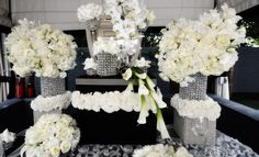 Old Hollywood Glamour Theme Wedding Ideas