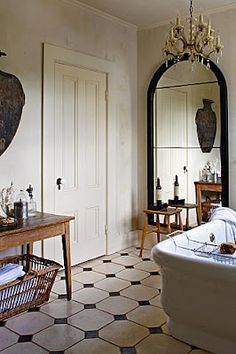 ✕ A stunning bath… / #interior #space