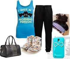 """""""Sleepover Style"""" by beenchantedwithlove on Polyvore"""