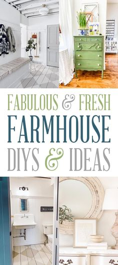 Fabulous and Fresh Farmhouse DIYS and Ideas. Come on over to The Cottage Market for the freshest happenings in the Farmhouse DIY Decor World this week! Tons of DIYS. Inspiration and Ideas are waiting for you all in one spot. Fresh Farmhouse, Modern Farmhouse Decor, Farmhouse Style Decorating, Farmhouse Design, Decorating Your Home, Rustic Decor, Farmhouse Ideas, Budget Decorating, Coastal Farmhouse