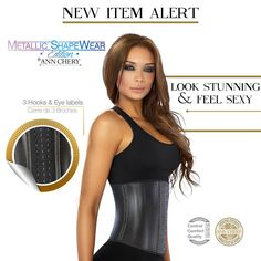 New Item Alert!  Look Stunning in 3 HOOK Waist Trainer!  Visibly Reduced Waist Line! ‼️ Flattened Tummy! ✅ Smooth Hips! ✨ Improves Posture Get yours today ☝ link in bio. Or Visit our website www.shaperclub.com