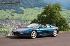 Ferrari 355 GTS F1 Blu Nart. I have had this car for 11 years and (almost) never tired of it. It is dated in many ways, but remains one of the best looking and sounding cars Ferrari has made.