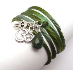 Wrap Bracelet $30.00 #jewelry #handmade #bracelet #brigteam