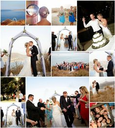 Perfect views at both the ceremony and reception at this wedding in Chania, Crete Real Weddings, Wedding Planner, Reception, Photo Wall, Image, Weddings, Wedding Planer, Photograph, Receptions