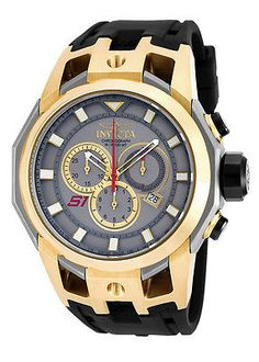 Other Jewelry and Watches 98863: Invicta S1 Rally 50Mm Titanium, Gold Watch 16813 -> BUY IT NOW ONLY: $136.15 on eBay!