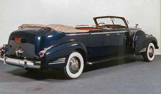 Franklin D. Roosevelt - 1938 Cadillac Limousine Secret Service Car