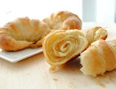 Perfect, flaky croissants