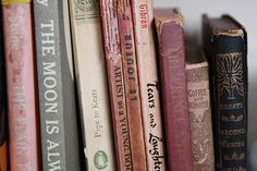 Books are my one desire. Particularly old and grungy books are just so sad and that makes them beautiful.