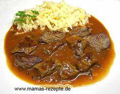 Rezept Schwäbische Rostbratenzipfel auf Mamas Rezepte Homepage