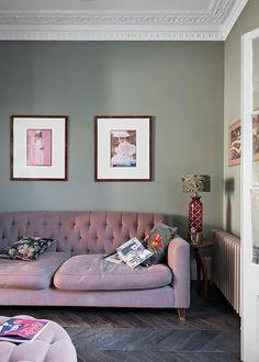 Living room art above couch master bedrooms 30 Ideas Dark Wood Floors Living Room, Living Room Green, Living Room Art, Living Room Interior, Dark Sofa Living Room, Glamour Living Room, Victorian Living Room, Living Room Color Schemes, Couch