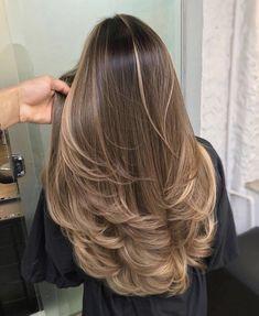 Brown Hair Balayage, Brown Blonde Hair, Brunette Hair, Ombre Hair, Brunette Highlights, Blonde Balayage, Color Highlights, Blonde Honey, Honey Hair