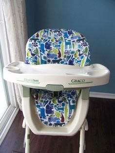 High Chair Cover Sewing Pattern