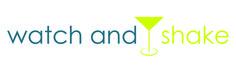 Das Logo von www.watchandshake.de - einfach, klar, simpel! watch and shake! :) #logo #design #watchandshake #cocktails #drinks #cheers #fun #kurs #cocktailkurs #trinken #getränk