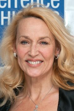 Jerry Hall. Nice and natural without any weird puffy lips or an immobile face.