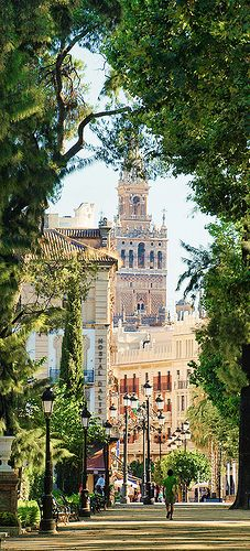Jardines de Cristina   Sevilla  Spain