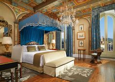 Royal Suite Gioconda Master Bedroom at The St. Regis Florence #Florence #Travel