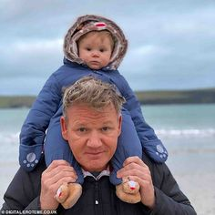 Gordon Ramsay says his son Oscar takes after his foul-mouthed father Gordon Ramsay Home Cooking, Chef Gordon Ramsay, Animal Pictures, Cute Pictures, Romanian Food, Romanian Recipes, Turkish Recipes, Grillin And Chillin, Scottish Recipes