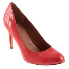 Del Patent Pump Coral, $129, now featured on Fab.