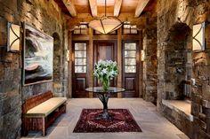 Gorgeous foyer #entryway