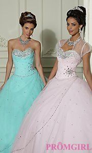Buy Beaded Tulle Quinceanera Dress by Mori Lee ஜ۩۞۩ஜDouble click the picture to take you to the site ஜ۩۞۩ஜ
