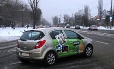 advertising on vehicles