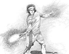 "Check out new work on my @Behance portfolio: ""Ilustración grafísmo líneal de Tenistas"" http://be.net/gallery/49485867/Ilustracion-grafismo-lineal-de-Tenistas"