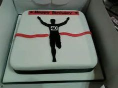 running themed cake - yahoo Image Search Results