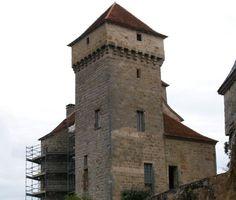 Château de Saint Hilaire, situé dans la commune de Curemonte en Corrèze, dans le Limousin, France.