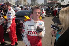 Frankie Muniz, Jennifer Lexon, Toyota Grand Prix Celebrity Race Long Beach by Real TV Films, via Flickr