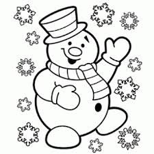 Winter Coloring Pages  Print Winter Pictures to Color at