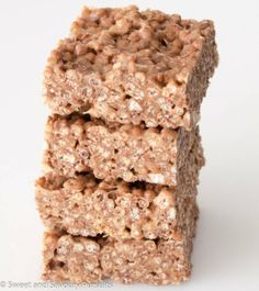 Cocoa Quinoa Puffs and Peanut Butter Squares. Want a change from rice crispy squares, try these gluten free bars.