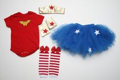 to cute for a baby.. wonder women ! I think Cindy wouldn't mind her grandbaby in this!