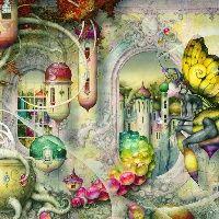 A World Apart by daniel Merriam. Mythical.