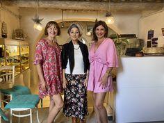Wood Cafe, Mykonos, Lily Pulitzer, Medieval, Bakery, Kimono Top, Tops, Dresses, Women