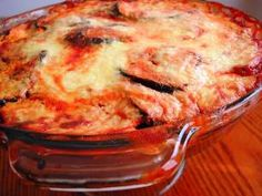 Let me start of by saying I love how Ina Garten cooks. I have made many of her recipes and the one I am featuring today is one that I have made many times. It is called Eggplant Gratin. Veggie Dishes, Vegetable Recipes, Easy Eat, Eggplant Recipes, Italian Dishes, Italian Foods, Original Recipe, Main Dishes, Side Dishes