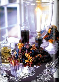 Berries and chestnuts - Carolyne Roehm