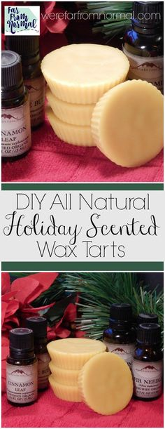 Want to get your home smelling like the holidays without artificial fragrances? These Christmas scented wax tarts will fill your home with  all natural holiday cheer!!   I'm on a bit of a roll here folks… it started with my fall scented wax tarts, which I loved.  After using them for awhile I thought hmmmm…. …