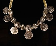 South India | Silver necklace from Orissa
