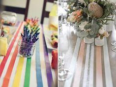 10 maneiras de decorar usando fita de cetim, satin ribbon, decor, decoration, decoração casamento, decoração festa, mesa posta, decoração barata
